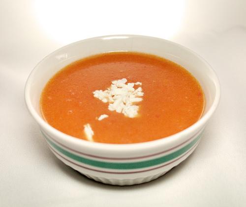 Domates Çorbası, Domates Çorbası Tarifi, Resimli Oktay Usta Domates Çorbası Tarifi Yapılışı
