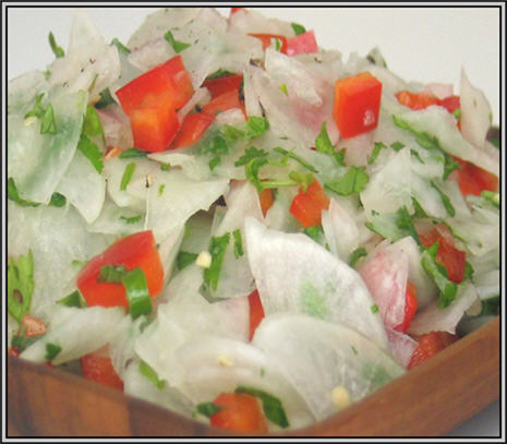 Havuç Turp Salatası Tarifi, Resimli Oktay Usta Havuç Turp Salatası Tarifi Yapılışı