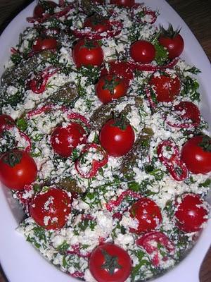 Lor Salatası, Lor Salatası Tarifi, Resimli Oktay Usta Lor Salatası Tarifi Yapılışı