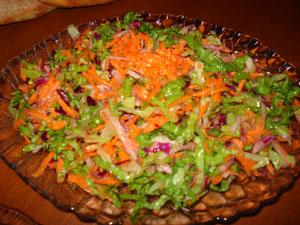 Marul Salatası, Marul Salatası Tarifi,