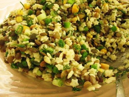 Mercimek Salatası, Mercimek Salatası Tarifi, Resimli Oktay Usta Mercimek Salatası Tarifi Yapılışı