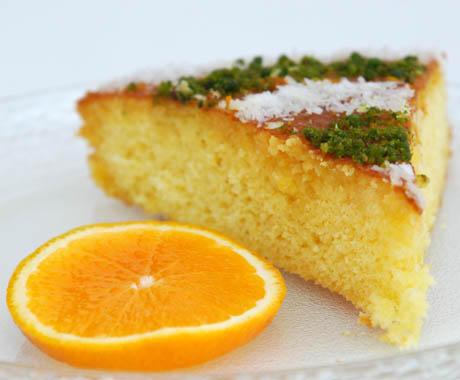 Portakallı Kek, Portakallı Kek Tarifi, Resimli Oktay Usta Portakallı Kek Tarifi Yapılışı