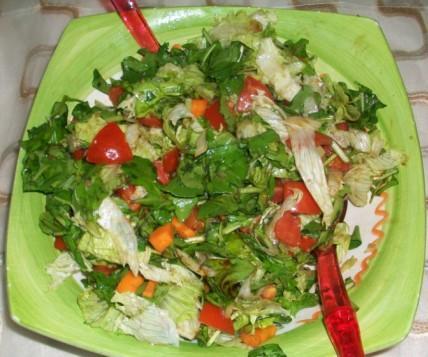 Bahar Salatası Tarifi, Resimli Oktay Usta Bahar Salatası Tarifi Yapılışı