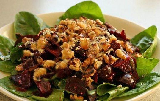 Cevizli Pancar Salatası, Cevizli Pancar Salatası Tarifi, Resimli Oktay Usta Cevizli Pancar Salatası Tarifi Yapılışı