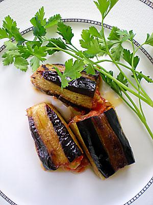 Zeytinyağlı Patlıcan Dolması, Zeytinyağlı Patlıcan Dolması Tarifi, Resimli Oktay Usta Zeytinyağlı Patlıcan Dolması Tarifi Yapılışı
