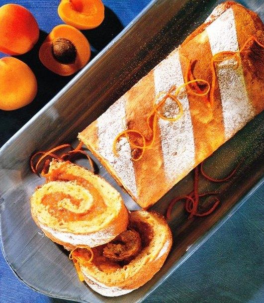 Kayısılı Ve Portakallı Rulo Pasta Tarifi, Kayısılı Ve Portakallı Rulo Pasta Tarifi, Resimli Oktay Usta Kayısılı Ve Portakallı Rulo Pasta Tarifi Yapılışı