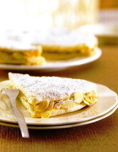 Kahve Kremalı Beze Pastası Tarifi,Kahve Kremalı Beze Pastası Tarifi, Resimli Oktay Usta Kahve Kremalı Beze Pastası Tarifi Yapılışı
