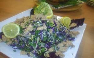 Soyalı Salata, Soyalı Salata Tarifi, Resimli Oktay Usta Soyalı Salata Tarifi Yapılışı
