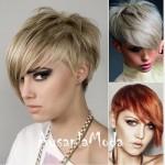 Çok Modern Kısa Saç Modeli
