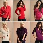 2012 Bayan Triko Kışlık Kazak Modelleri