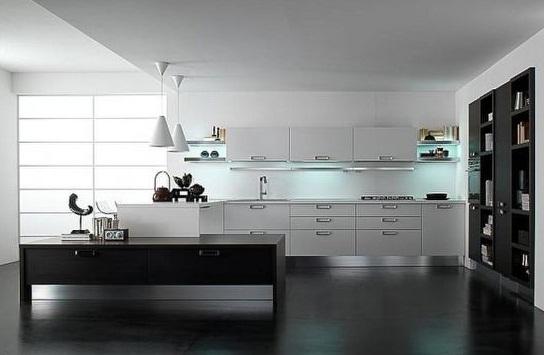 2012 siyah beyaz mutfak dolapları