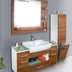 Ahsap Banyo Dolapları Modellerı