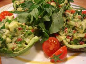 Avakado Salatası, Avakado Salatası Tarifi, Resimli Oktay Usta Avakado Salatası Tarifi Yapılışı