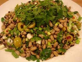 Börülce Salatası, Börülce Salatası Tarifi, Resimli Oktay Usta Börülce Salatası Tarifi Yapılışı