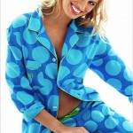 Büyük Puanlı Bayan Pijama