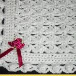 Beyaz Bebek Battaniye Modelleri