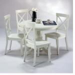 Beyaz Yuvarlak Masa Modeli