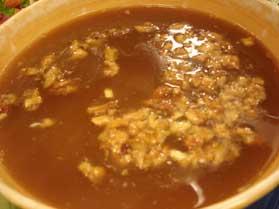 Cevizli Pirinç Çorba, Cevizli Pirinç Çorba Tarifi, Resimli Oktay Usta Cevizli Pirinç Çorba Tarifi Yapılışı
