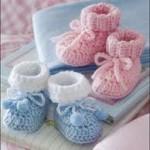 En Güzel Patik Örnekleri 150x150 Bebek Patik Modelleri