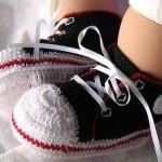 Erkek Bebek Panik Örneği 150x150 Bebek Patik Modelleri