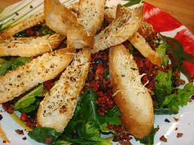 Ispanaklı Salata, Ispanaklı Salata Tarifi, Resimli Oktay Usta Ispanaklı Salata Tarifi Yapılışı