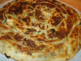 Ispanaklı-Tava-Börek