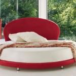 Kırmızı Başlıklı Yuvarlak Yatak