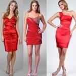 Kırmızı Bayan Abiye Modelleri 2012