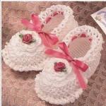 Kız Bebek PAtik Örnekleri 150x150 Bebek Patik Modelleri