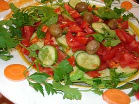 Kabaklı Salata, Kabaklı Salata Tarifi, Resimli Oktay Usta Kabaklı Salata Tarifi Yapılışı