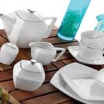 Karaca Gümüş Çizgili Kahvaltı Takımı