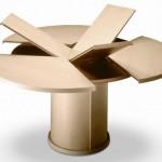 Katlanabilir Yuvarlak Masa Modeli