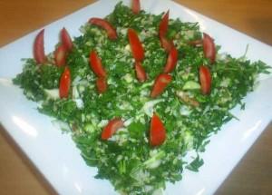 Maydonoz Salatası, Maydonoz Salatası Tarifi, Resimli Oktay Usta Maydonoz Salatası Tarifi Yapılışı
