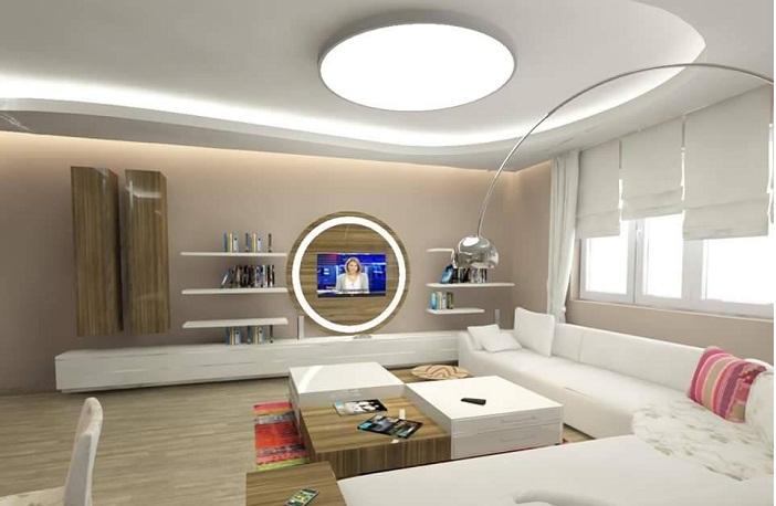 Modern ve şık tv ünitesi modelleri