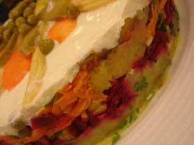 Pancarlı Patates Salatası, Pancarlı Patates Salatası Tarifi, Resimli Oktay Usta Pancarlı Patates Salatası Tarifi Yapılışı