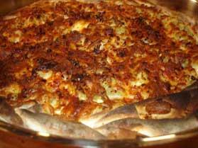 Patlıcanlı Açık Börek, Patlıcanlı Açık Börek Tarifi, Resimli Oktay Usta Patlıcanlı Açık Börek Tarifi Yapılışı