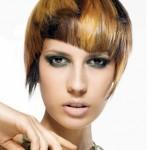 Renkli Kısa Saç Modası