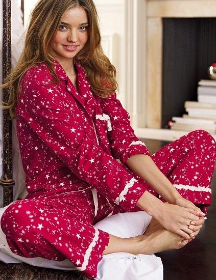 Yıldızlı Bayan Pijama Trendi