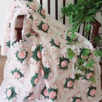 cicekli Bebek Battaniye Modelleri