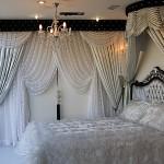 yatak odanizi büyülü hale getiren taç perde