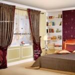 yatak odasında taç perde örnekleri