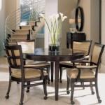 yuvarlak mutfak masa sandalye takimi modeli
