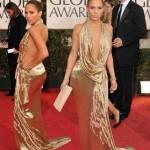 Altın Rengı Sırt Dekoltelı Abıye Kıyafetler