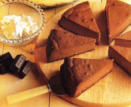 Çikolatalı-Cheesecake, Çikolatalı Cheesecake Tarifi, Resimli Oktay Usta Çikolatalı Cheesecake Tarifi Yapılışı