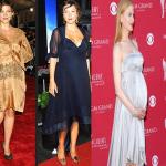 Hamıleler Icın Abıye Gece Kıyafetlerı 150x150 Hamilelik Abiye Elbise Modeli