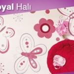 Kelebekli Royal Halı Modelleri