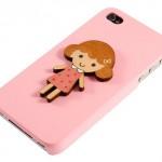 Kucuk Kız Cep Telefon Kılıf Modeli