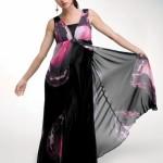 Sıyah Abıye Hamıle Kıyafetı 150x150 Hamilelik Abiye Elbise Modeli