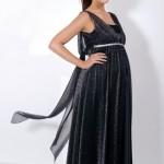 Sıyah Hamıle Kıyafetı 150x150 Hamilelik Abiye Elbise Modeli