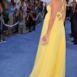 Sarı Abıye Hamıle Orneklerı 150x150 Hamilelik Abiye Elbise Modeli